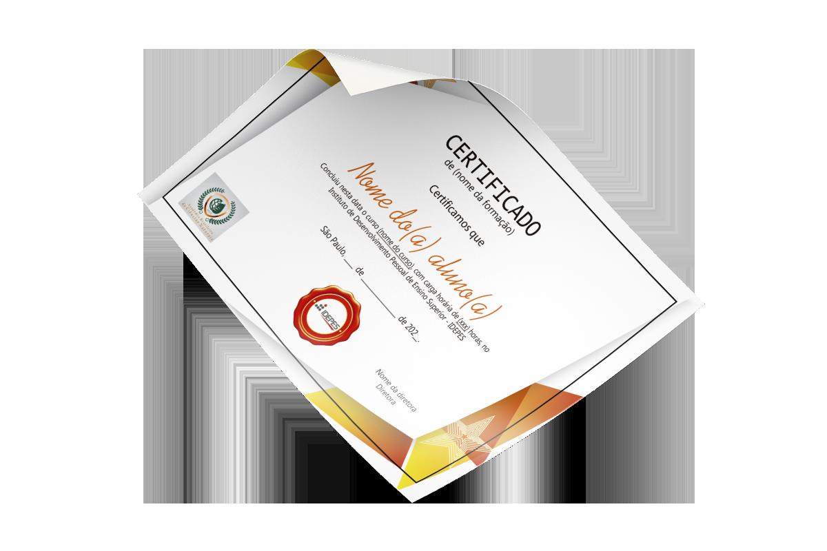 Certificado IDEPES